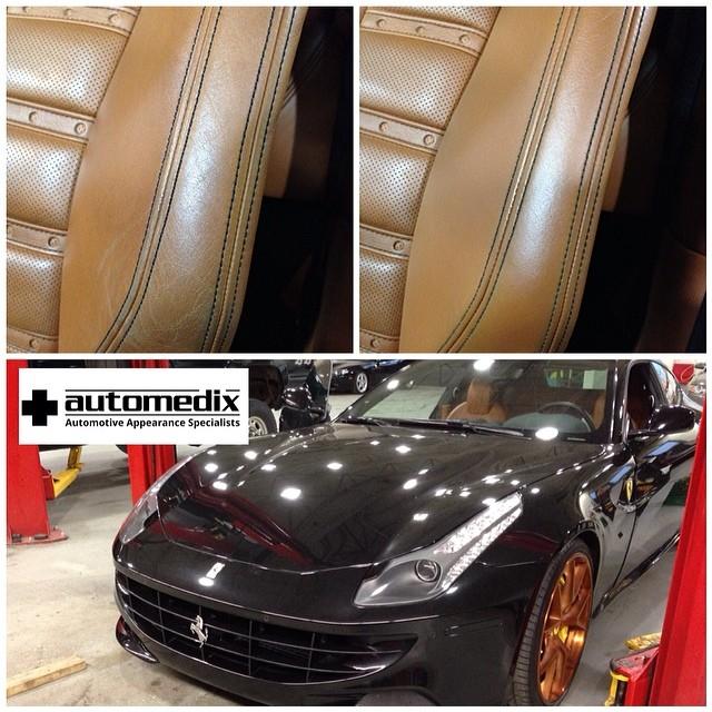 Ferrari FF Seat Repair